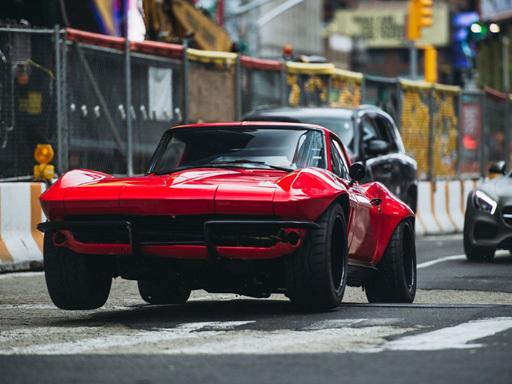 【中古】ミニカー 1/24 F8 Letty`s Chevy CORVETTE 「ワイルド・スピード ICE BREAK」 [JAD98298]