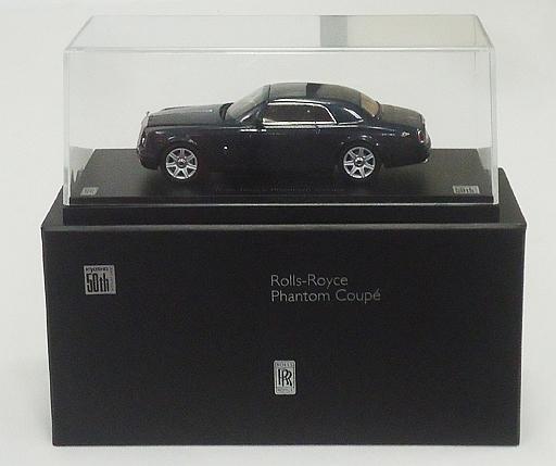 【中古】ミニカー 1/43 Rolls-Royce Phantom Coupe(ダーケストタングステン) -ロールス・ロイス ファントム クーペ- 「50th Anniversary」 [05531TGKA]