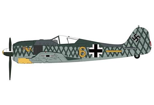 """【予約】ミニカー 1/48 Fw190 A-4 フォッケウルフ """"ヴォルフガング・レオンハルト中尉機"""" [HA7423]"""