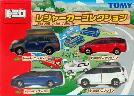 【中古】ミニカー レジャーカーコレクション(4台セット) 「トミカ」 [729723]