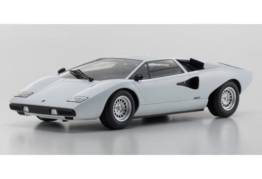 【予約】ミニカー 1/18 ランボルギーニ カウンタック LP400(ホワイト) 「OUSIAシリーズ」 [KSC09531W]