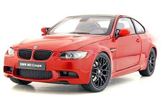 【予約】ミニカー 1/18 BMW M3 クーペ E92(メルボルンレッド) [KS08734MR]