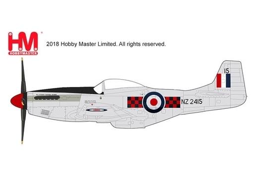 """【予約】ミニカー 1/48 P-51Dマスタング """"ニュージーランド空軍 2010"""" [HA7742]"""
