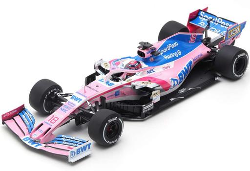 SPORTPESA RACING POINT F1 TEAM MERCEDES RP19 2019 LANCE STROLL 1//43 Minichamps