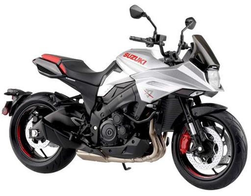 1/12 SUZUKI GSX-S1000S KATANA フルオプション(メタリックミスティックシルバー) 「完成品バイクシリーズ」