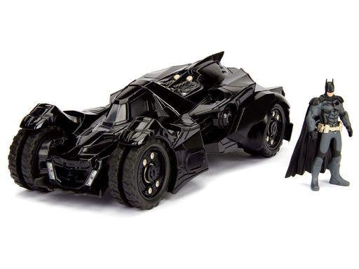 JADA TOYs 新品 ミニカー 1/24 バットモービル 2015 バットマン フィギュア付 「バットマン アーカム・ナイト」 [JADA98037]