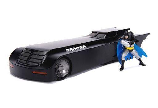 JADA TOYs 新品 ミニカー 1/24 バットモービル アニメシリーズ バットマン フィギュア付 「バットマン」 [JADA30916]
