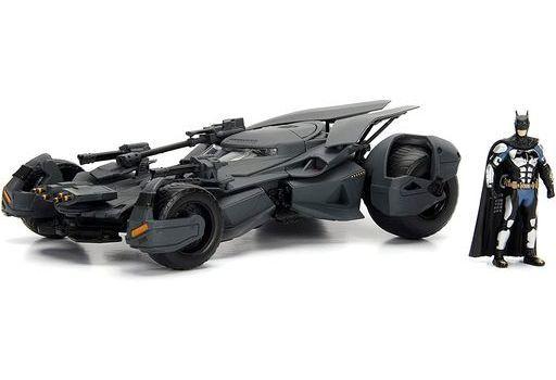 JADA TOYs 新品 ミニカー 1/24 バットモービル バットマン フィギュア付 「ジャスティス・リーグ」 [JADA99232]