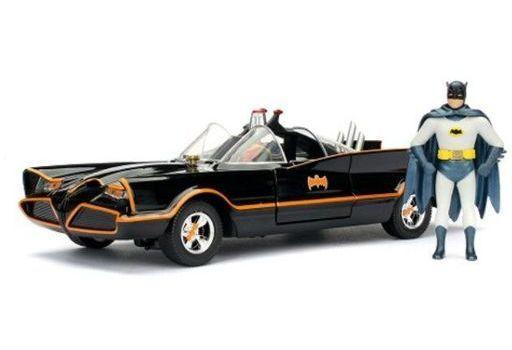 JADA TOYs 新品 ミニカー 1/24 バットモービル クラシック TVシリーズ バットマン フィギュア付 「バットマン」 [JADA98259]