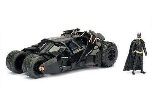 JADA TOYs 新品 ミニカー 1/24 バットモービル バットマン フィギュア付 「ダークナイト」 [JADA98261]