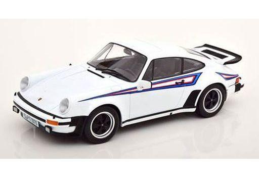 KK scale(ケーケースケール) 予約 ミニカー 1/18 Porsche 911 930 3.0 Turbo 1976(ホワイトマルティーニ) [KKDC180572]