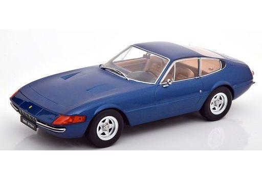 KK scale(ケーケースケール) 予約 ミニカー 1/18 Ferrari 365 GTB Daytona Serie 2 1971(ブルーメタリック) [KKDC180592]