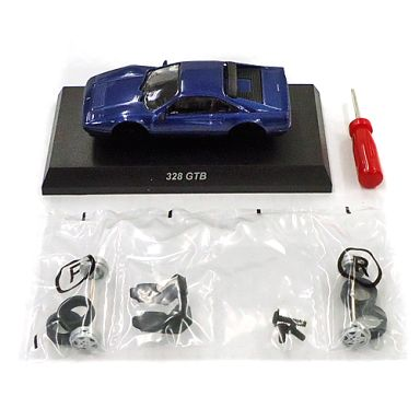 【中古】ミニカー 1/64 328 GTB(ブルー) 「フェラーリ ミニカーコレクション 10」 サークルK・サンクス限定