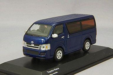 【中古】ミニカー 1/64 トヨタ ハイエース(ブルー) [KS07042A7]