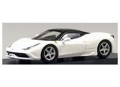 【中古】ミニカー 1/64 フェラーリ 458 スペチアーレ(ホワイト) [KS07046A13]