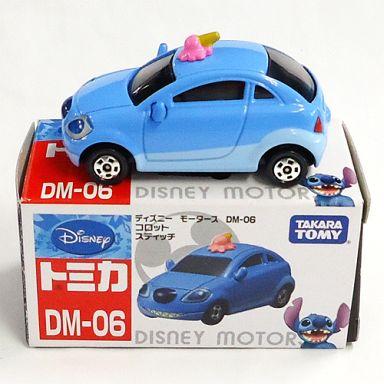 【中古】ミニカー コロット スティッチ(ブルー) 「ディズニーモータース DM-06」