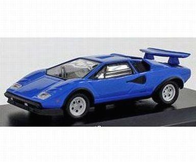 【中古】ミニカー 1/64 Lamborghini Countach LP500S (ライトブルー) [KS07045A6]