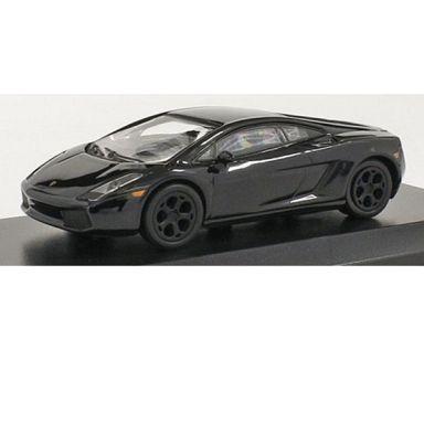 【中古】ミニカー 1/64 Lamborghini Gallardo (ブラック) [KS07045A12]