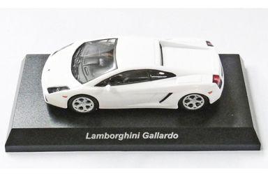 【中古】ミニカー 1/64 LAMBORGHINI Gallardo(ホワイト) 「ランボルギーニ ミニカーコレクション5」 サークルK・サンクス限定