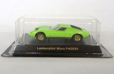 【中古】ミニカー 1/64 Lamborghini Miura P400SV(ライムグリーン) 「ランボルギーニ ミニカーコレクション」 サークルK・サンクス限定