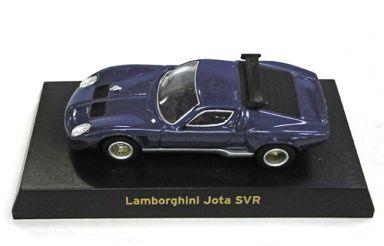 【中古】ミニカー 1/64 Lamborghini Jota SVR(ブルー) 「ランボルギーニ ミニカーコレクション」 サークルK・サンクス限定