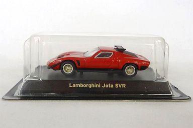 【中古】ミニカー 1/64 Lamborghini Jota SVR(レッド) 「ランボルギーニ ミニカーコレクション」 サークルK・サンクス限定