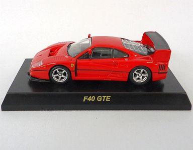 【中古】ミニカー 1/64 Ferrari F40 GTE(レッド) 「フェラーリ ミニカーコレクション VIII」 サークルK・サンクス限定