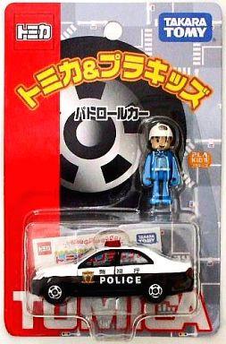 【中古】ミニカー パトロールカー #110(ホワイト×ブラック) 「トミカ&プラキッズ」