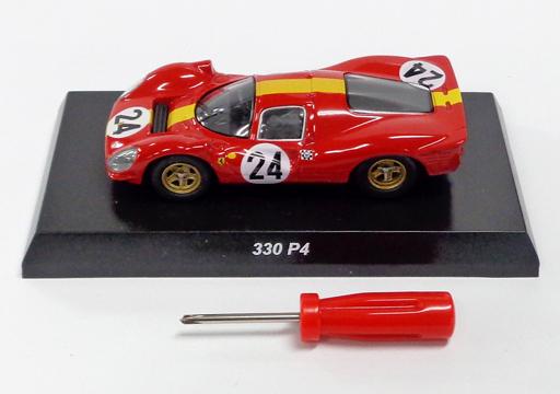 【中古】ミニカー 1/64 330 P4 #24(レッド×イエロー) 「フェラーリ ミニカーコレクションIV」