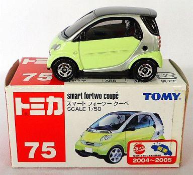 【中古】ミニカー 1/50 スマート フォーツー クーペ(ライトグリーン/赤箱) 「トミカ No.75」