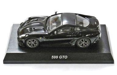 【中古】ミニカー 1/64 Ferrari 599 GTO(ブラック) 「フェラーリミニカーコレクション 9」 サークルK・サンクス限定