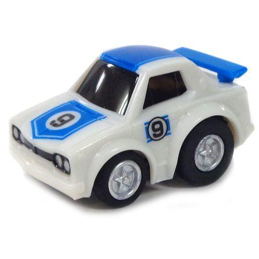 【中古】ミニカー ミニミニチョロQ ハコスカ GT-R #9(ホワイト×ブルー) 「ワンダ ミニミニチョロQ 歴代GT-Rコレクション」