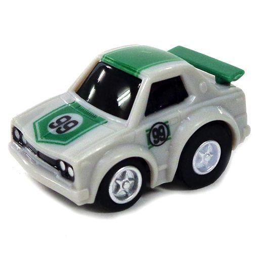 【中古】ミニカー ミニミニチョロQ ハコスカ GT-R #99(グレー×グリーン) 「ワンダ ミニミニチョロQ 歴代GT-Rコレクション」
