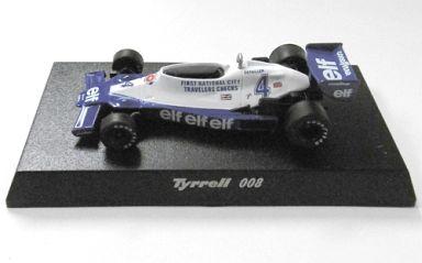 【中古】ミニカー 1/64 Tyrrell 008 1978 #4 P.DEPAILLER(ブルー×ホワイト) 「ティレルミニカーコレクション」 サークルK・サンクス限定