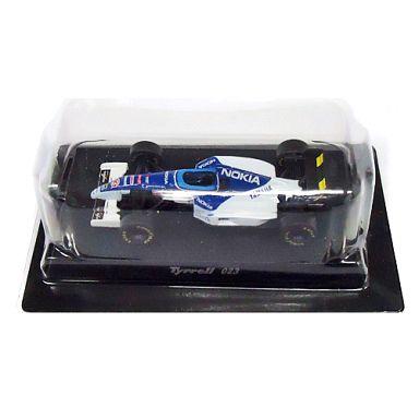 【中古】ミニカー 1/64 Tyrrell 023 1995 #3 U.KATAYAMA(ブルー×ホワイト) 「ティレルミニカーコレクション」 サークルK・サンクス限定