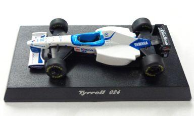 【中古】ミニカー 1/64 Tyrrell 024 1996 #19 M.SALO(ホワイト×ブルー) 「ティレルミニカーコレクション」 サークルK・サンクス限定