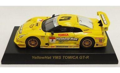1/64 YellowHat YMS TOMICA GT-R #3(イエロー) 「GT-R レーシングカーコレクション」 サークルK・サンクス限定