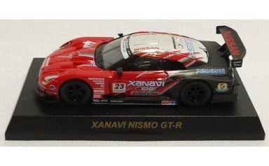 【中古】ミニカー 1/64 XANAVI NISMO GT-R #23(レッド×シルバー×ブラック) 「GT-R レーシングカーコレクション」 サークルK・サンクス限定