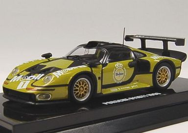 【中古】ミニカー 1/64 ポルシェ911 GT1 1996 ル・マン テストカー 「Beads Collection」 [K06521F]