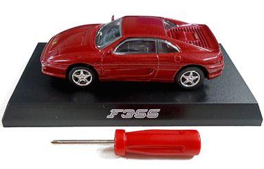 【中古】ミニカー 1/64 Ferrari F355(ワインレッド) 「フェラーリ ミニカーコレクションII」 サークルK・サンクス限定