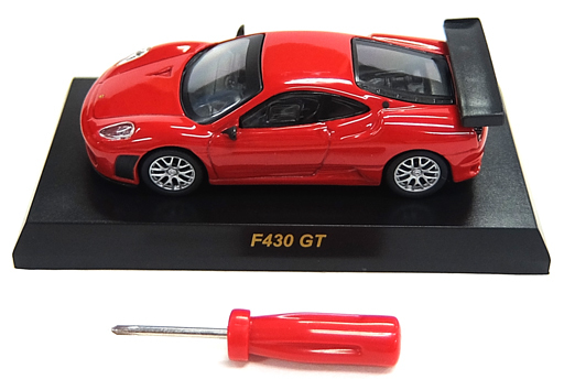 【中古】ミニカー 1/64 Ferrari F430 GT(レッド) 「フェラーリ ミニカーコレクションIII」 サークルK・サンクス限定