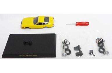 【中古】ミニカー 1/64 Ferrari 365 GTB4 Daytona(イエロー) 「フェラーリ ミニカーコレクションIII」 サークルK・サンクス限定