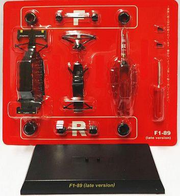 【中古】ミニカー 1/64 Ferrari F1-89 late version. No.28 G.BERGER 1989(レッド) 「フェラーリ フォーミュラカーモデルコレクションII」 サークルK・サンクス限定