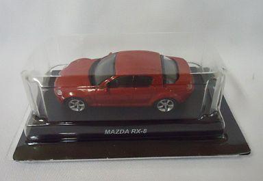 【中古】ミニカー 1/64 MAZDA RX-8(レッド) 「マツダ ロータリーエンジン ミニカーコレクション」 サークルK・サンクス限定