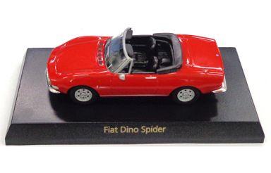 【中古】ミニカー 1/64 Fiat Dino Spider(レッド) 「フィアット&ランチア ミニカーコレクション」 サークルK・サンクス限定