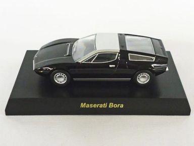 【中古】ミニカー 1/64 Maserati Bora(ブラック) 「マセラッティ ミニカーコレクション」 サークルK・サンクス限定