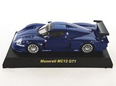 【中古】ミニカー 1/64 Maserati MC12 GT1(ブルー/マーキング無) 「マセラッティ ミニカーコレクション」 サークルK・サンクス限定
