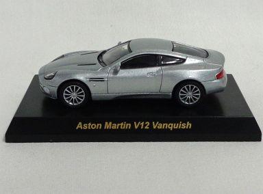 【中古】ミニカー 1/64 Aston Martin V12 Vanquish(シルバー) 「ブリティッシュカー ミニカーコレクション」 サークルK・サンクス限定