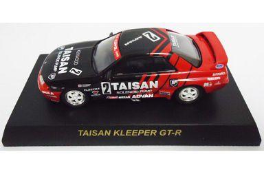【中古】ミニカー 1/64 TAISAN KLEEPER GT-R #2(ブラック×レッド) 「ニッサン スカイライン GT-R R32 GROUP A ミニカーコレクション」 サークルK・サンクス限定