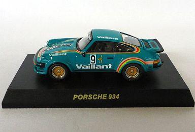 【中古】ミニカー 1/64 PORSCHE 934 1976 Porsche Cup Champion #9(グリーン) 「ポルシェ 934/935 ミニカーコレクション」 サークルK・サンクス限定